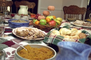 Table At Thanksgiving