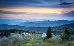 Blue Ridge Mountains Sunrise
